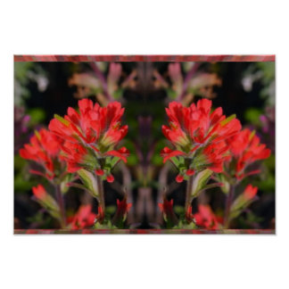 Exotic Red Flower Bunch - High Energy Decorations