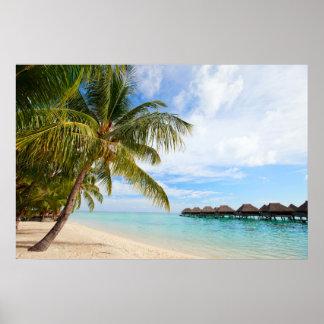 Exotic resort poster