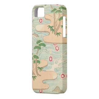 Exotic Retro Island Hexagons iPhone SE/5/5s Case