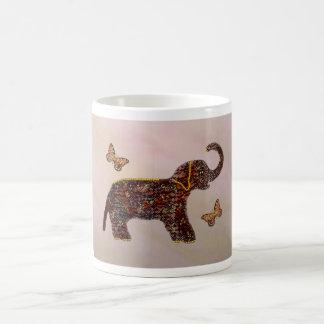 Exotic Rose Elephant Mug