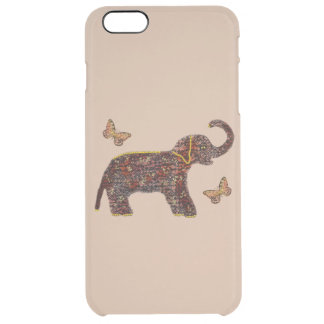 Exotic Rose Elephant Uncommon Clearly™ Deflector iPhone 6 Plus Case