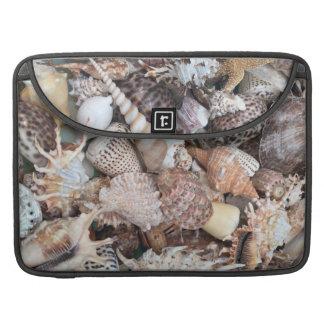 Exotic Seashell Personalized MacBook Pro Sleeve