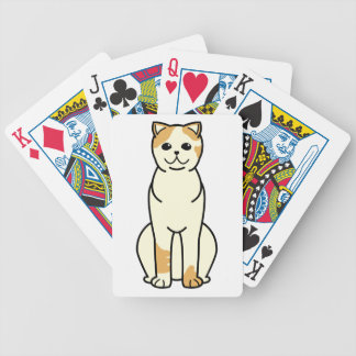 Exotic Shorthair Cat Cartoon Bicycle Playing Cards