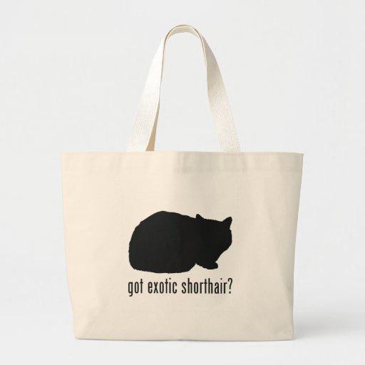 Exotic Shorthair Cat Large Tote Bag