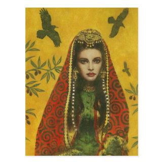 Exotic Sorceress Postcard