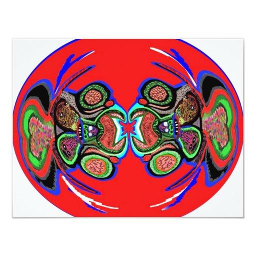 Exotic Spider Dance 4.25x5.5 Paper Invitation Card