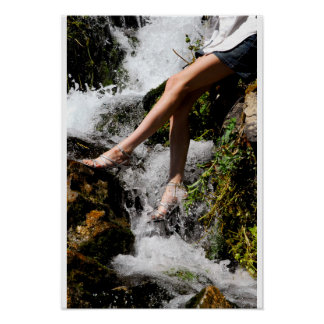 Exotic Spring Water Poster