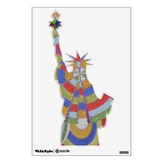 Exotic Statue of Liberty - Freedom for the People Wall Sticker