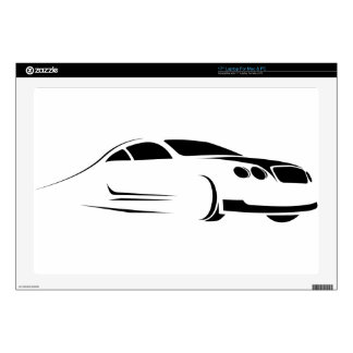 Exotic Supercar Laptop Decal