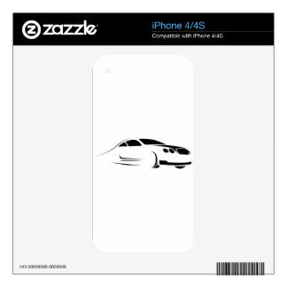 Exotic Supercar Skin For The iPhone 4S