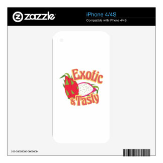 Exotic & Tasty Decals For iPhone 4S