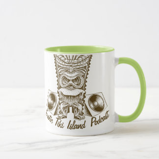 Exotic Tiki Island Podcast Mug