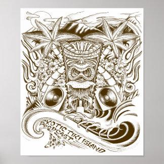 Exotic Tiki Island Podcast Poster