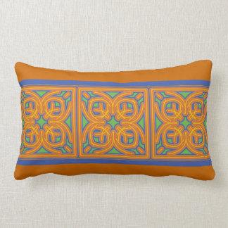 Exotic Tile Lumbar Pillow