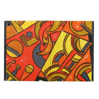 Exotic Train Trip - Abstract Art iPad Air Cover