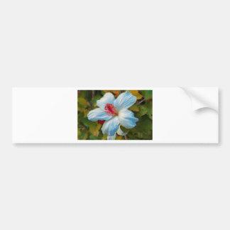 Exotic Tropical Flower Bumper Sticker