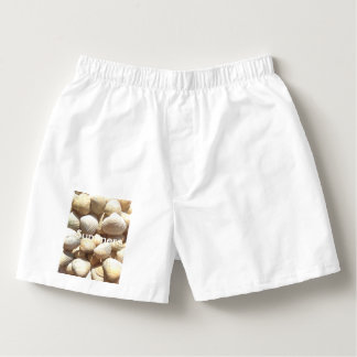 Exotic Tropical Sea Shell Summer Beach Photography Boxers