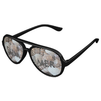 Exotic Tropical Summer Sea Shells Photography Aviator Sunglasses