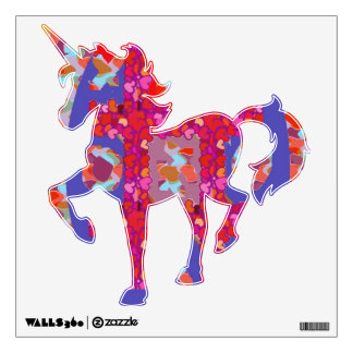 EXOTIC UNICORN  Graphic Art Collection Wall Decal
