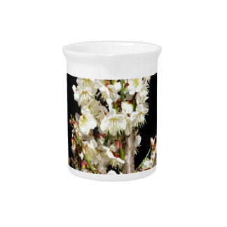 Exotic White Flower Bunch by Branch Romance Gifts Pitchers