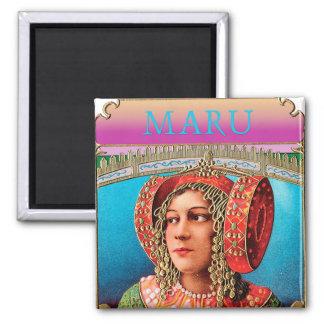 Exotic Woman Bohemian Magnet