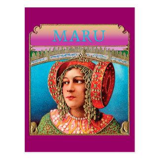 Exotic Woman Postcard