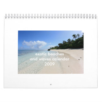 Exoticbeachposters.com Wall Calendars