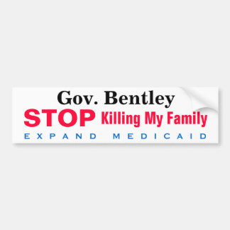 Expand Medicaid Family Bumper Sticker