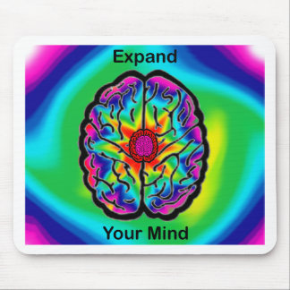 Expand Your Mind Mouse Pad