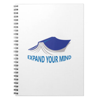 EXPAND YOUR MIND SPIRAL NOTE BOOKS