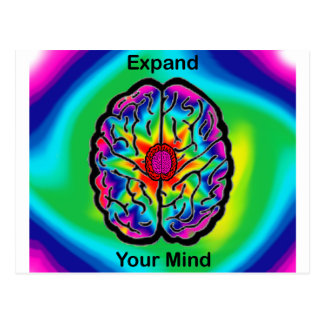 Expand Your MInd Postcard
