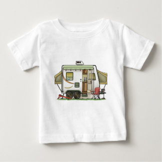 Expandable Hybred Trailer Camper Baby T-Shirt