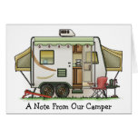 Expandable Hybred Trailer Camper Card