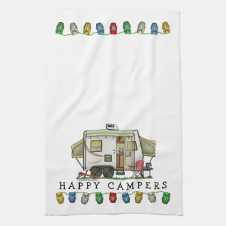 Expandable Hybred Trailer Camper Kitchen Towel at Zazzle