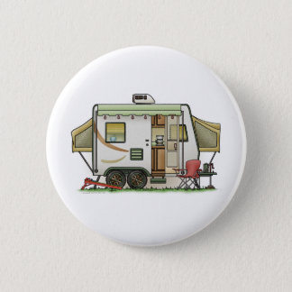 Expandable Hybred Trailer Camper Pinback Button