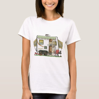 Expandable Hybred Trailer Camper T-Shirt