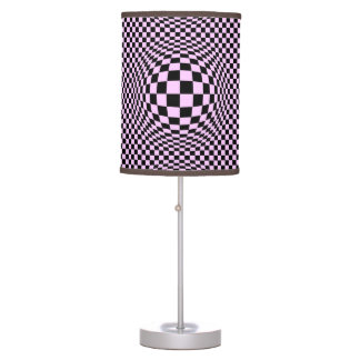Expanded Optical Check Desk Lamp