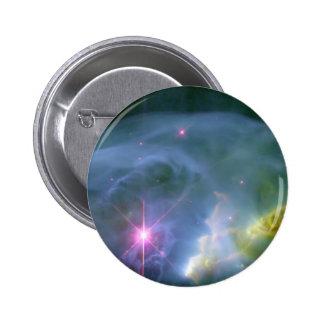 Expanding Bubble Pinback Button