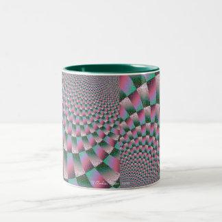 Expanding Eye Candy Two-Tone Coffee Mug