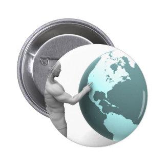 Expansión de negocio en el continente de pin redondo de 2 pulgadas