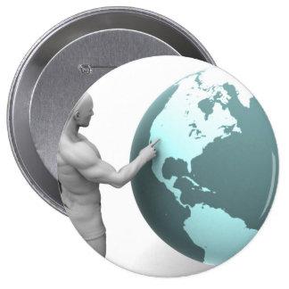 Expansión de negocio en el continente de pin redondo de 4 pulgadas
