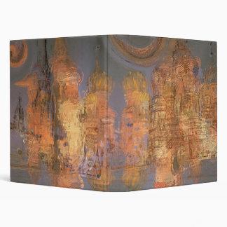 Expansion – Golden Shimmering City of Dream 3 Ring Binder