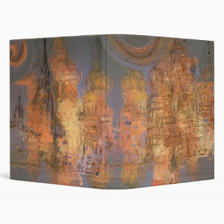 Expansion – Golden Shimmering City of Dream 3 Ring Binders