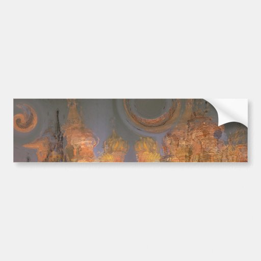 Expansion – Golden Shimmering City of Dream Bumper Stickers