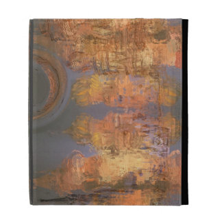 Expansion – Golden Shimmering City of Dream iPad Folio Cover