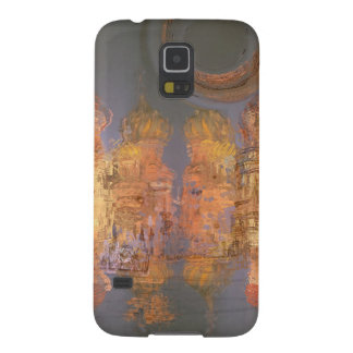 Expansion – Golden Shimmering City of Dream Case For Galaxy S5