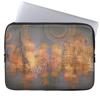 Expansion – Golden Shimmering City of Dream Computer Sleeves