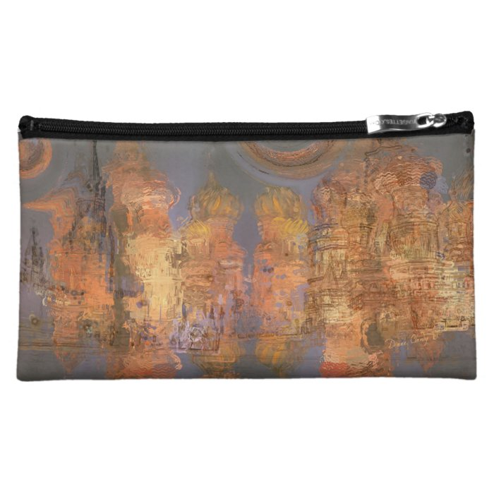 Expansion – Golden Shimmering City of Dream Cosmetic Bag