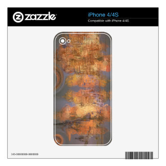 Expansion – Golden Shimmering City of Dream Decals For The iPhone 4