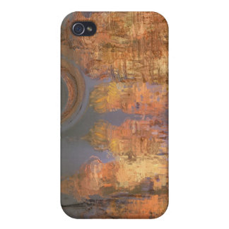 Expansion – Golden Shimmering City of Dream iPhone 4 Case